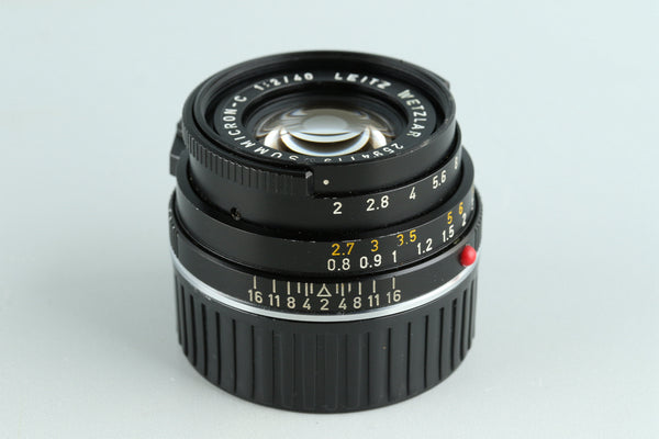 Leica Leitz Summicron-C 40mm F/2 Lens for Leica M #33295C2