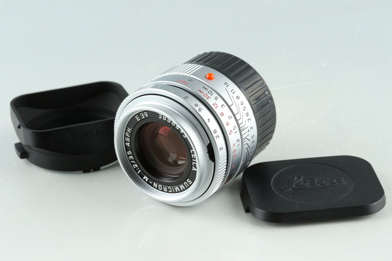 Leica Summicron-M 35mm F/2 ASPH. E39 Lens for Leica M #33482C1