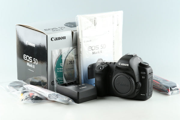 Canon EOS 5D Mark II Digital SLR Camera With Box #33485L3