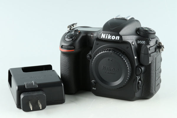 Nikon D500 Digital SLR Camera *Count 6323* #33512E1
