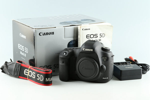 Canon EOS 5D Mark III Digital SLR Camera With box *Shutter Count 109792*#33611L3