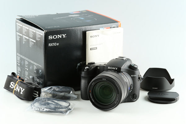 Sony Cyber-Shot DSC-RX10M4 Digital SLR Camera With Box *Japanese Only* #33780L2