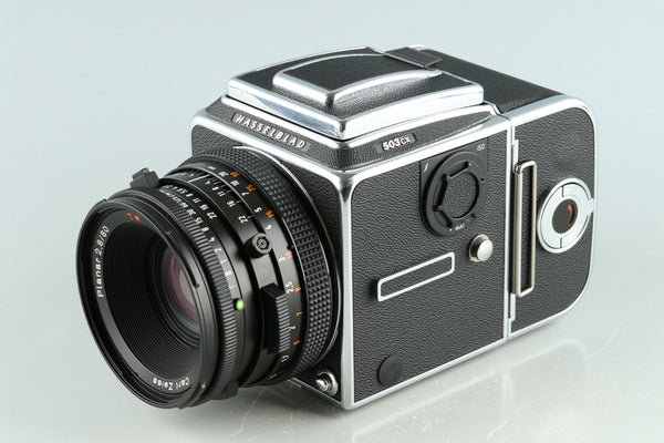 Hasselblad 503CX Medium Format SLR Film Camera + 80mm F/2.8 CF Lens + A12 #33792F1