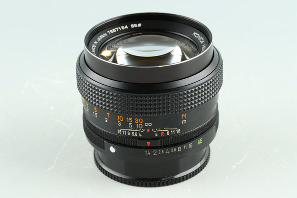 Konica Hexanon AR 50mm F/1.4 Lens for AR mount #33921F4