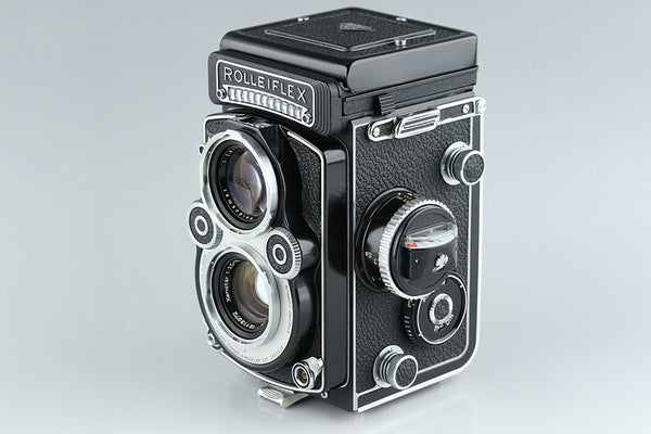 Rollei Rolleiflex 3.5F TLR Film Camera *White Face* + 75mm F/3.5 Lens #14455E5
