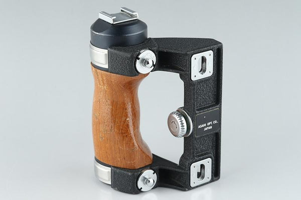 Pentax Wood Hand Grip for 6x7 67 67II #16046B7