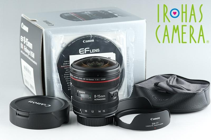 Canon EF 8-15mm F/4 L USM Lens With Box #15697F2