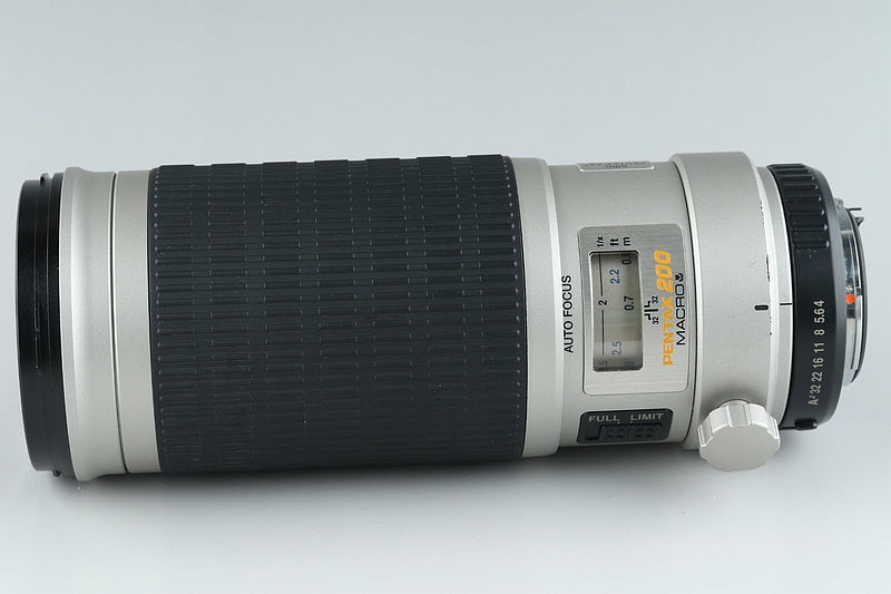 Pentax-FA Macro 200mm F/4 Lens for K Mount #16150C6