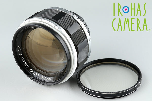 Canon 50mm F/1.2 Lens for Leica L39 #16946#7/3