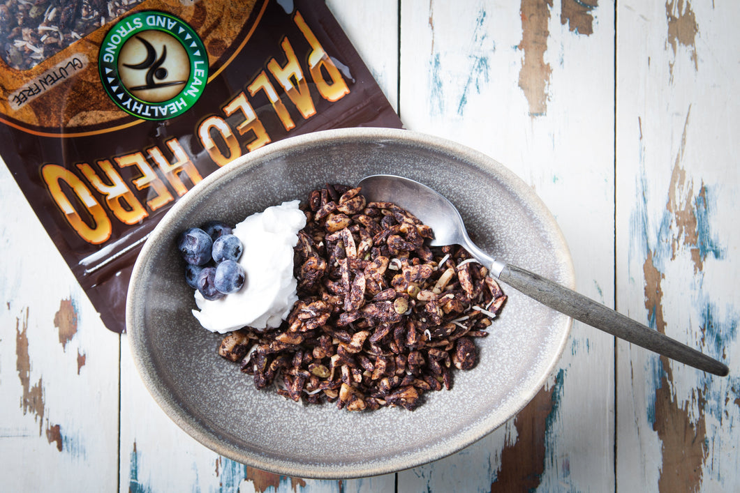 Paleo Hero Primal Choc Granola 750g - Nourish Meals by Wilde Kitchen