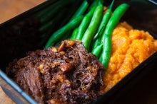 Load image into Gallery viewer, Sticky Pulled Pork 350g (GF) (DF) (P) - Nourish Meals by Wilde Kitchen