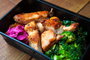 Grilled Chicken & Sweet Potato 350g (GF) (DF) (P) - Nourish Meals by Wilde Kitchen