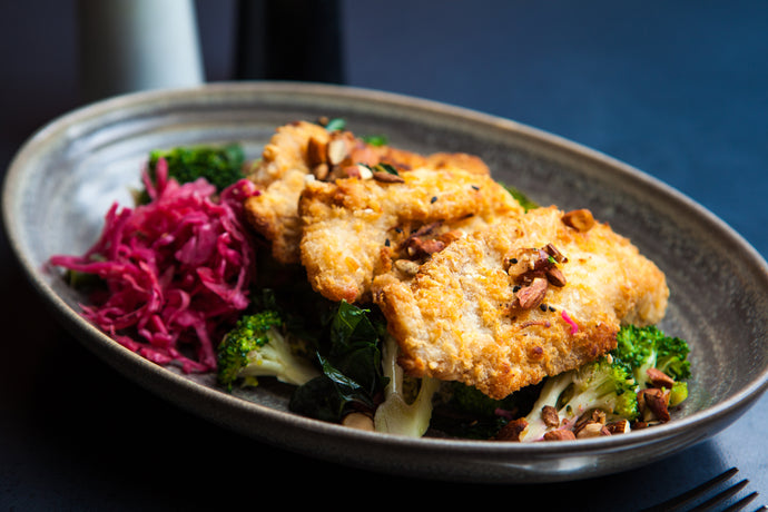 Coconut Crumbed Chicken 350g (GF) (DF) (P) - Nourish Meals by Wilde Kitchen