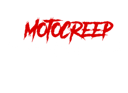 Motocreep knife logo