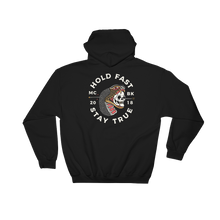 Load image into Gallery viewer, Hold Fast Black Hooded Sweatshirt
