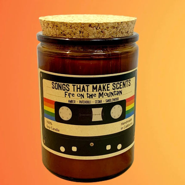 Fire on the Mountain 12oz Scented Soy Candle by Songs That Make Scents