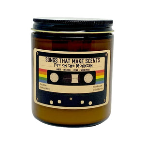 Fire on the Mountain Scented Soy Candle by Songs That Make Scents - Various sizes