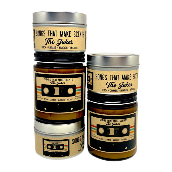 The Joker Scented Soy Candle by Songs That Make Scents - Various sizes