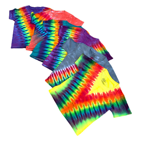 Toddler Tie Dye T-shirts - Size 2T-3T