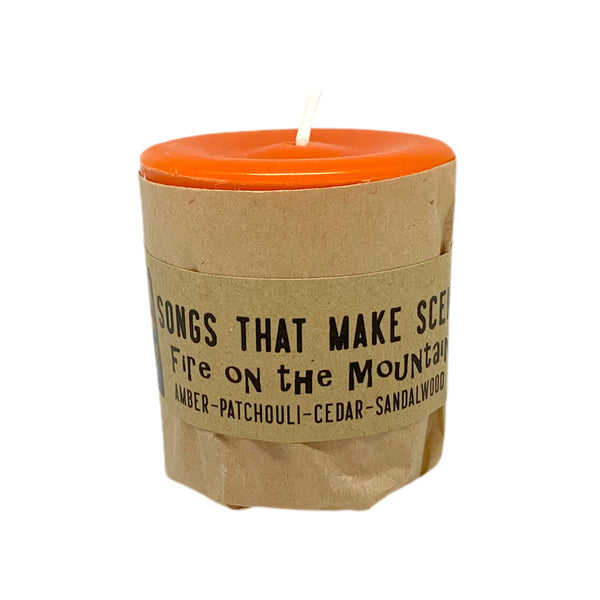 Fire on the Mountain Scented Votive Candles by Songs That Make Scents