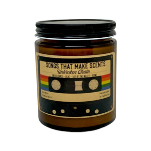 Unbroken Chain Scented Soy Candle by Songs That Make Scents - Various sizes