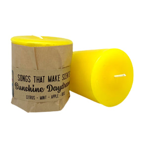 Sunshine Daydream Scented Votive Candles by Songs That Make Scents