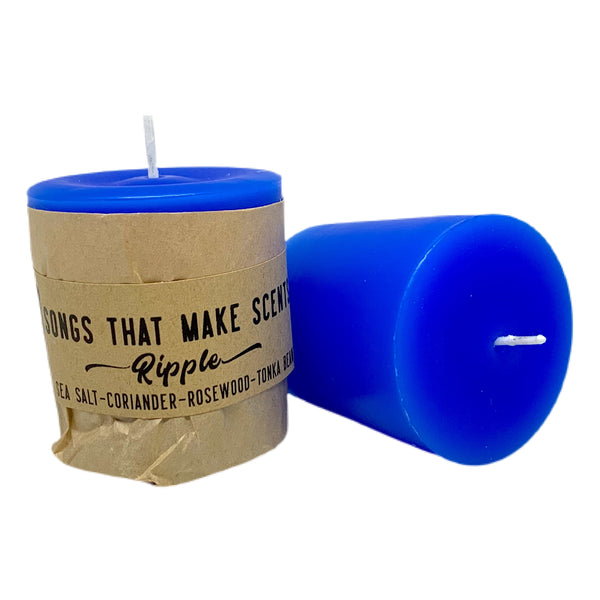 Ripple Scented Votive Candles by Songs That Make Scents