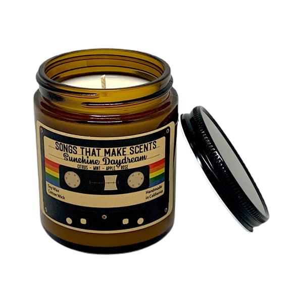 Sunshine Daydream Scented Soy Candle by Songs That Make Scents - Various sizes