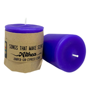 Althea Scented Votive Candles by Songs That Make Scents