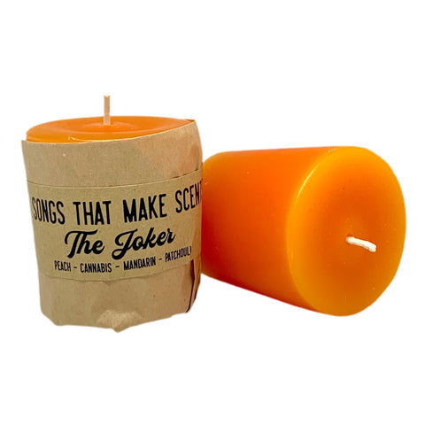 The Joker Scented Votive Candles by Songs That Make Scents