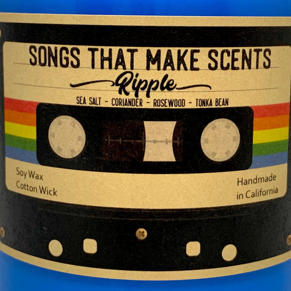 Ripple Scented 8oz Soy Candle by Songs That Make Scents