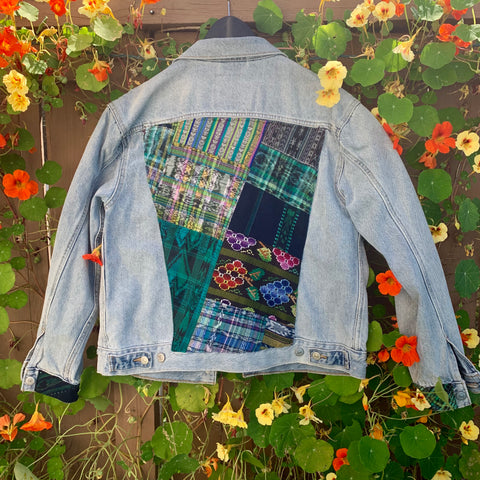 Levi Green Patchwork Jacket