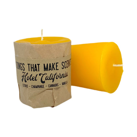 Hotel California Scented Votive Candles by Songs That Make Scents