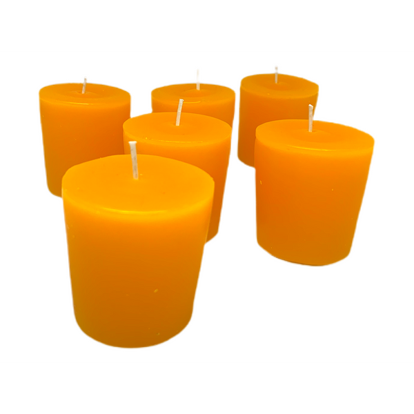 China Cat Sunflower Scented Votive Candles by Songs That Make Scents