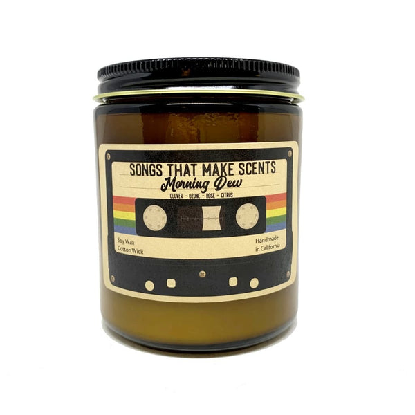 Morning Dew Scented Soy Candle by Songs That Make Scents - Various sizes