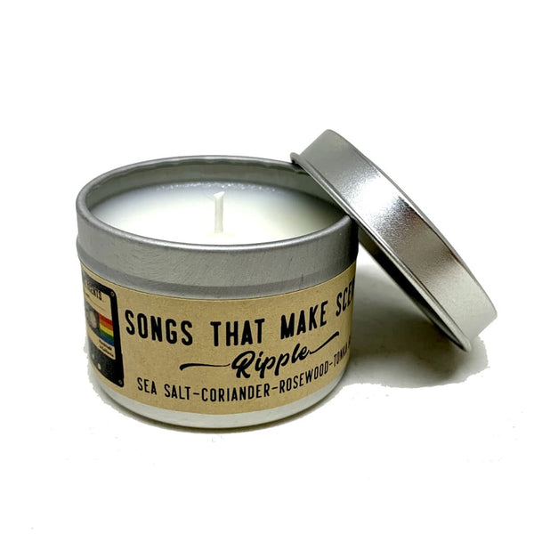 Ripple Scented Soy Candle by Songs That Make Scents - Various sizes