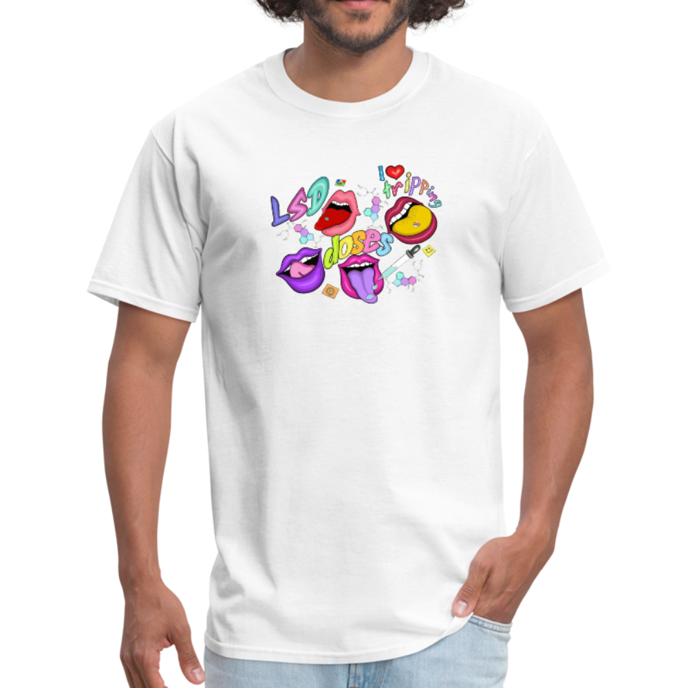 I love Tripping Classic T-shirt - white