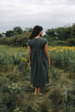 ONDINE DRESS IN PINE LINEN - PRE-ORDER