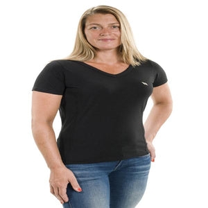 Back on Track Women's Vee Tee