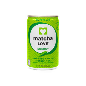 Sweetened Japanese Matcha + Green Tea Energy Shot