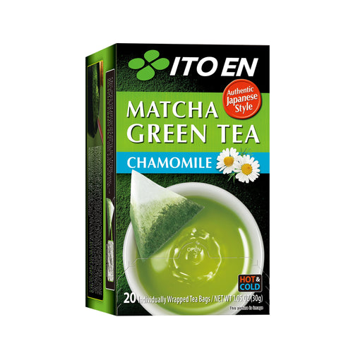Matcha Green Tea Chamomile Tea Bags
