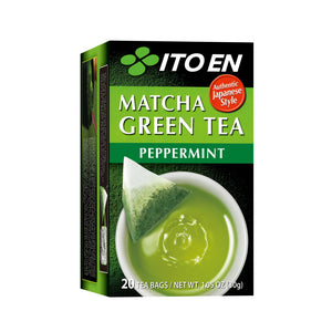 Matcha Green Tea Peppermint Tea Bags