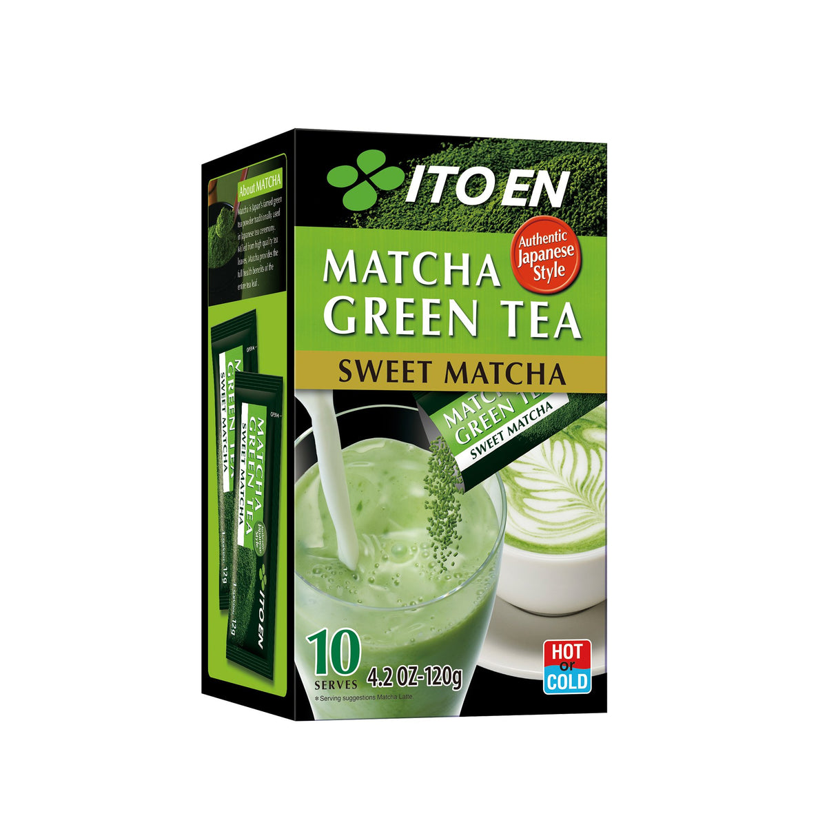 Matcha Green Tea Sweet Powder Sticks