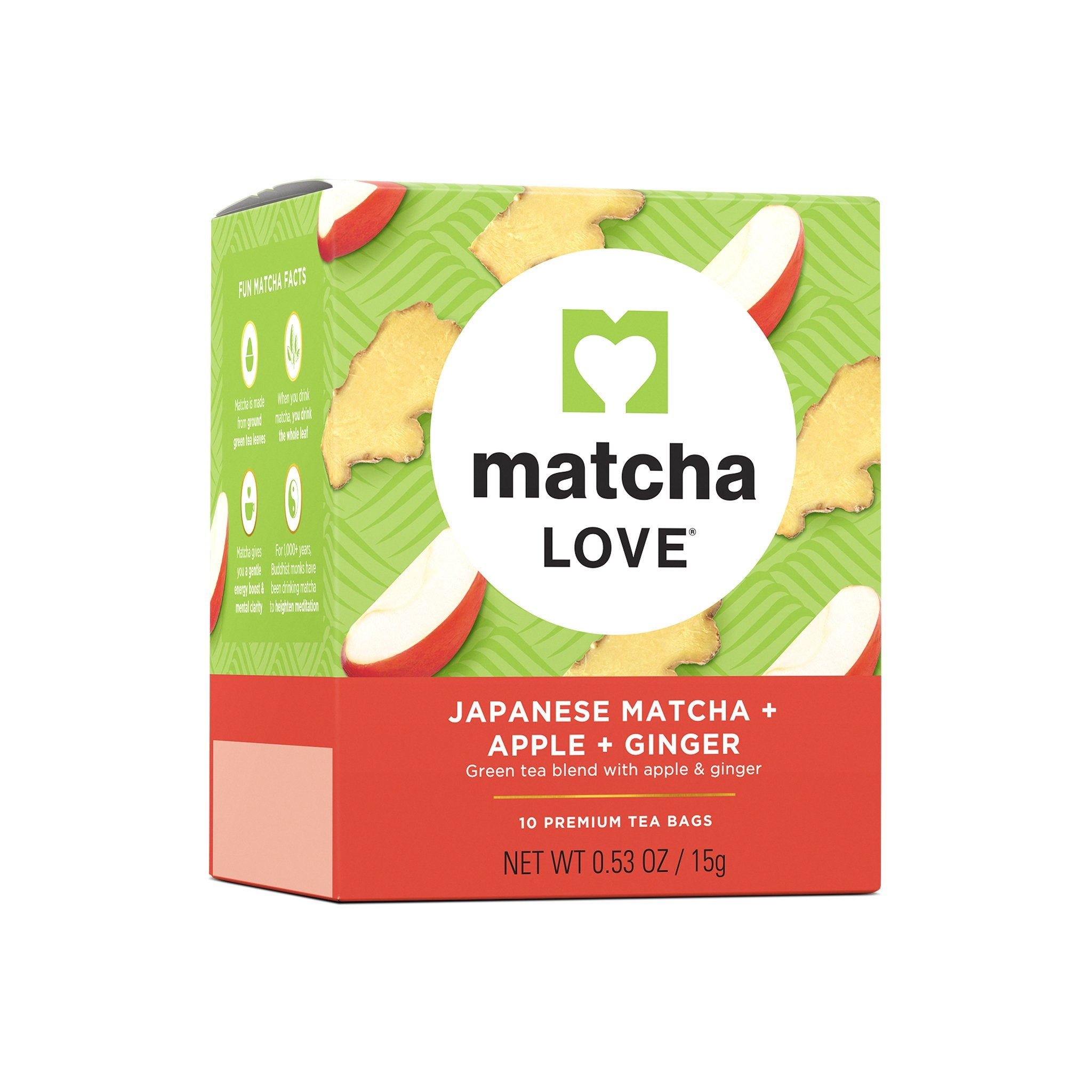 Japanese Matcha + Apple + Ginger