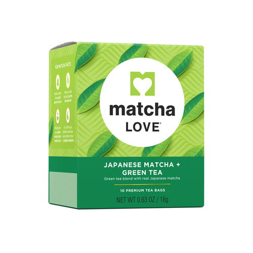 Japanese Matcha + Green Tea
