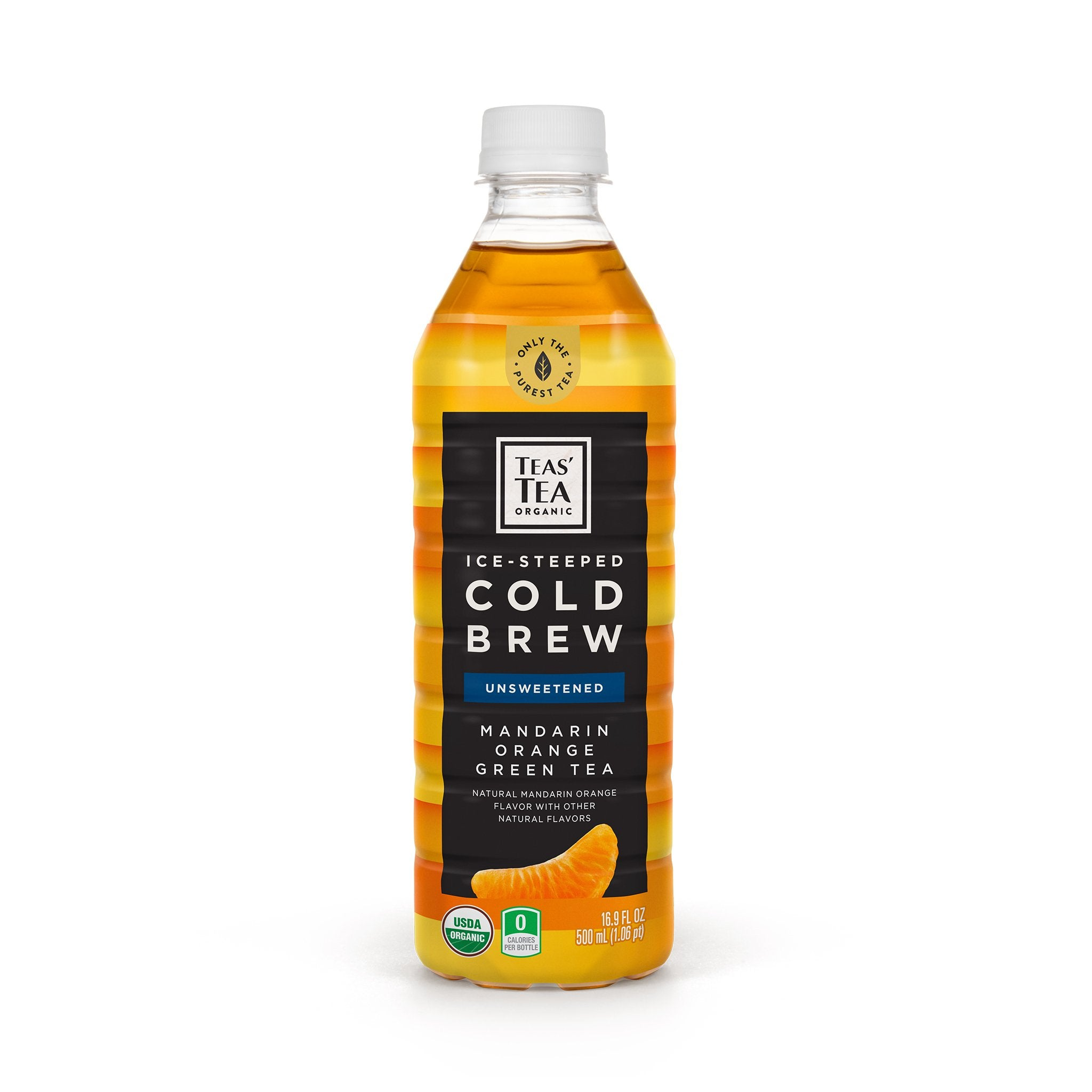 Ice Steeped Cold Brew Mandarin Orange Green Tea