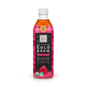 Ice Steeped Cold Brew Raspberry Black Tea