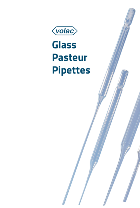 Pasteur Pipette Glass Volac 150mm x 1000 pieces