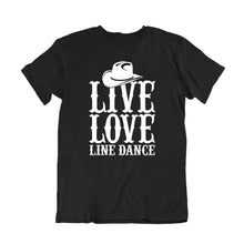 Load image into Gallery viewer, Live Love Line Dance T-Shirt