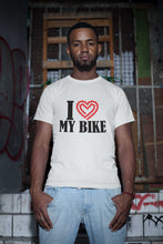 Load image into Gallery viewer, I Love My Bike T-Shirt